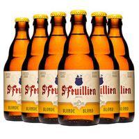 St-Feuillien 圣佛洋 金啤酒 330ml*6瓶 *3件